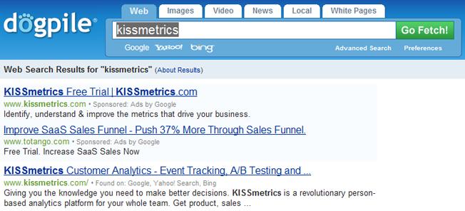 dogpile motores de búsqueda avanzados y alternativos