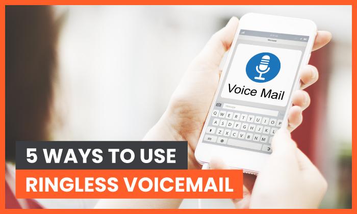 5 formas de usar el correo de voz sin tono de llamada