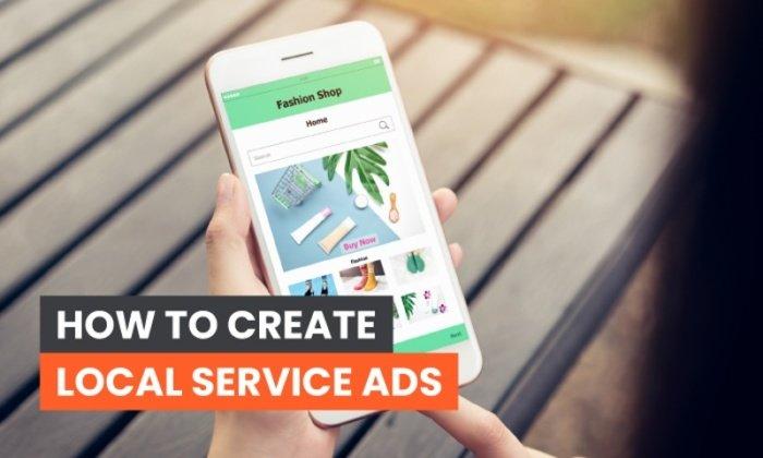 Cómo crear anuncios de servicios locales