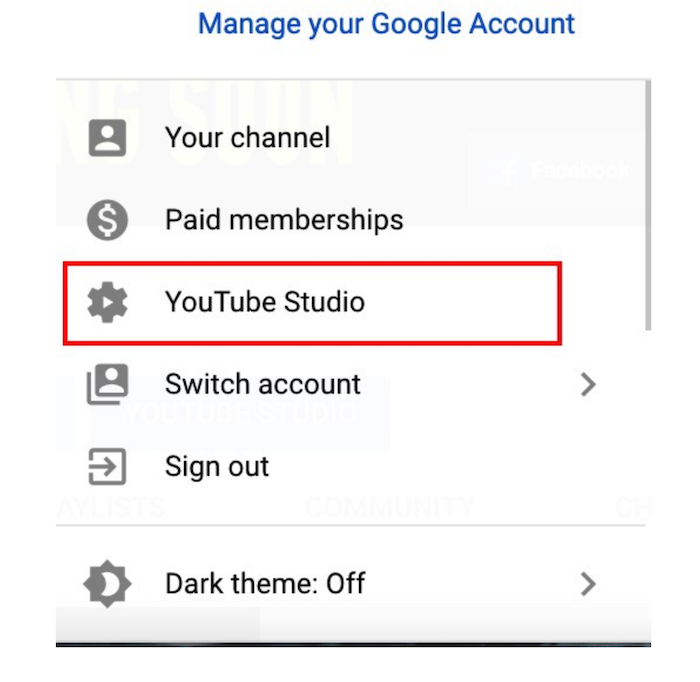 Métricas de KPI de auditoría de YouTube