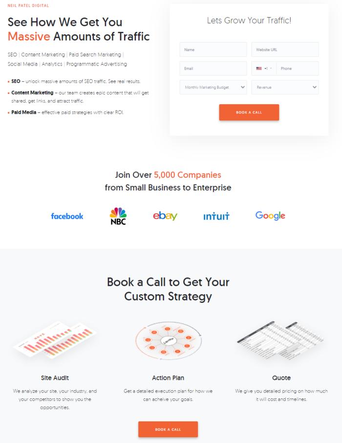 mantén el diseño de tu sitio web simple