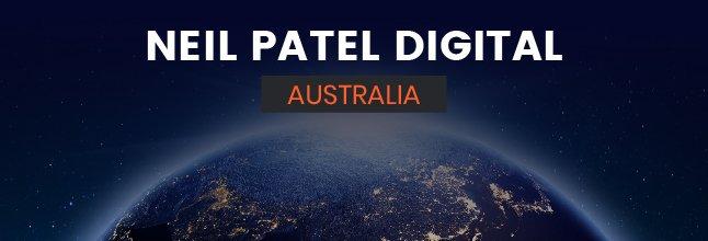 Neil Patel Digital Australie
