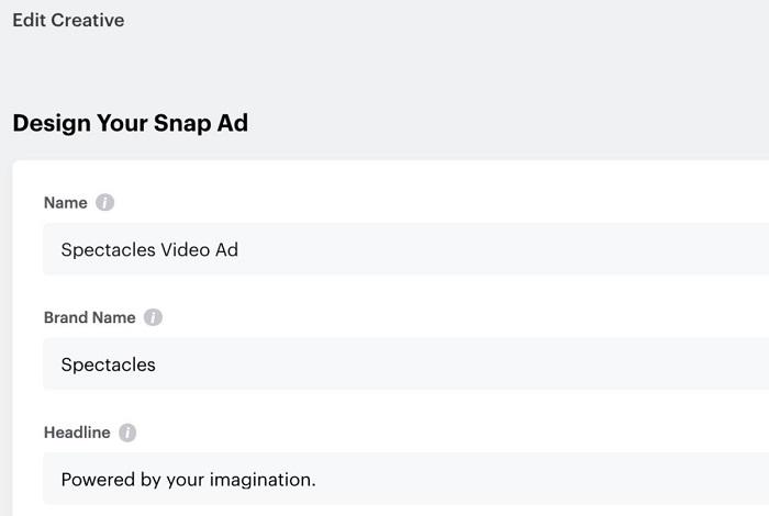 Cómo editar anuncios pagados - Snapchat