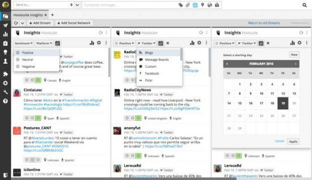 Ejemplo de herramienta de monitoreo de redes sociales para mejores conversiones de embudo