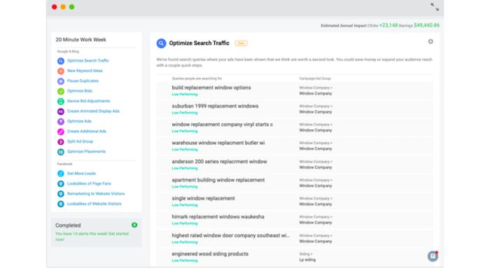 cómo editar anuncios ppc con la aplicación wordstream