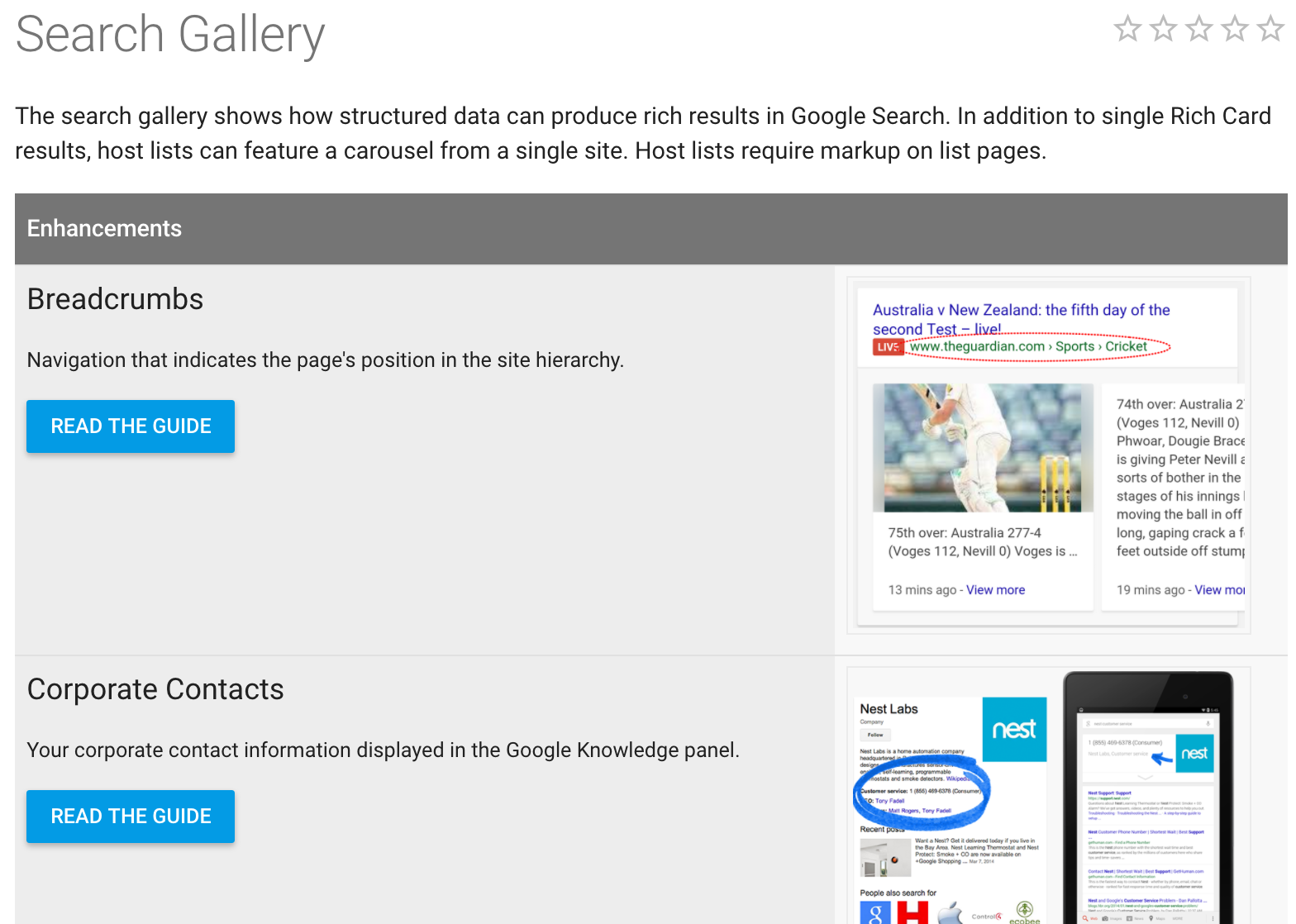 "structured data in google search gallery index website guide"" width=""700"" height=""525"