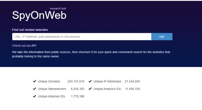 herramienta web spyon