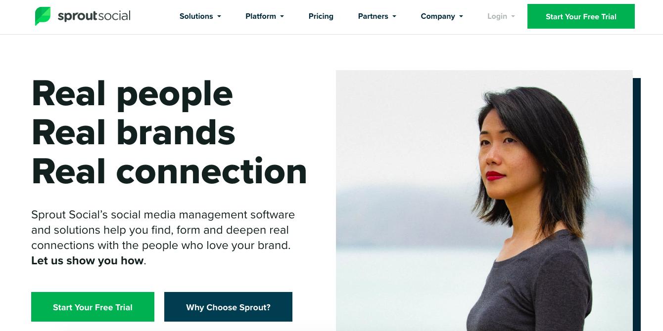 brotar herramienta de marketing de gestión de redes sociales