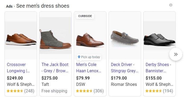 Si realiza una búsqueda paga, las buenas imágenes de los productos son esenciales para los anuncios de Google Shopping.