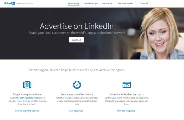 Consejos para redes sociales: anuncios de LinkedIn
