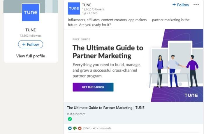 Ideas publicitarias de LinkedIn: coloque su anuncio en varias columnas de páginas alineadas, como fragmentos