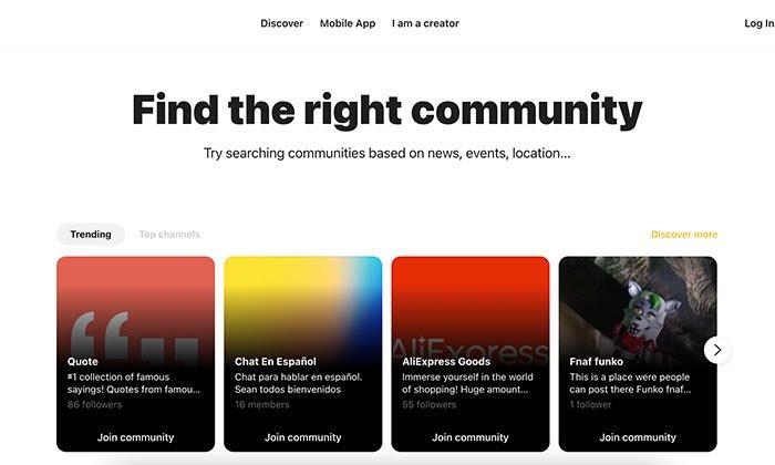 Comunidades de nicho: Capture, una aplicación que une comunidades de nicho