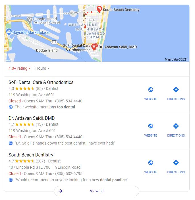 Marketing dental: localice sus anuncios