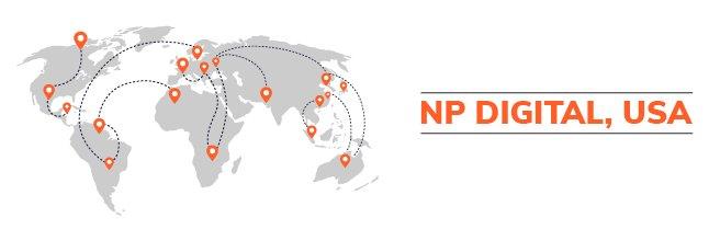 Logotipo de NP Digital, Estados Unidos