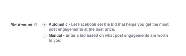 cuánto cuestan los anuncios de facebook - estrategias de subasta
