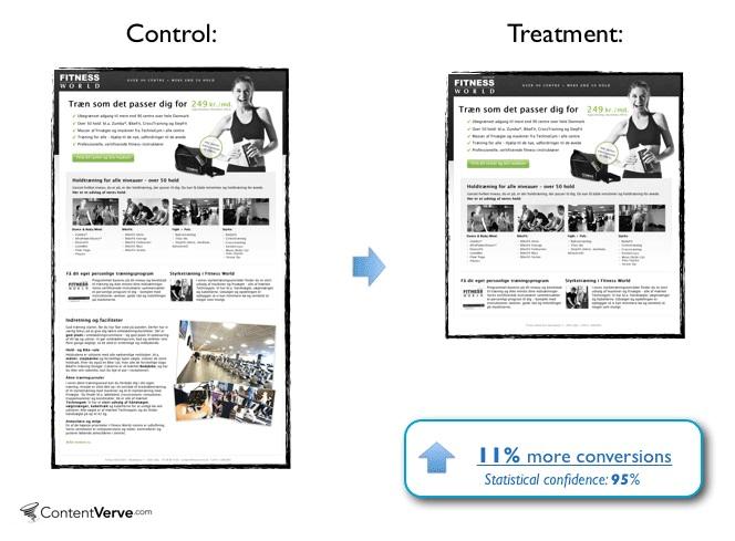 control vs procesamiento ¿cómo se prueba una página web?