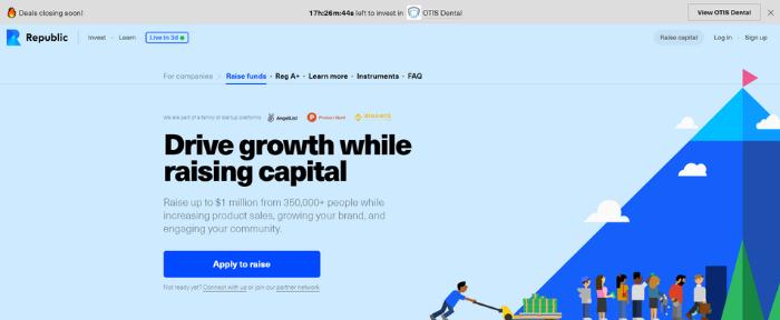 Empresas de crowdfunding de renta variable - Republic