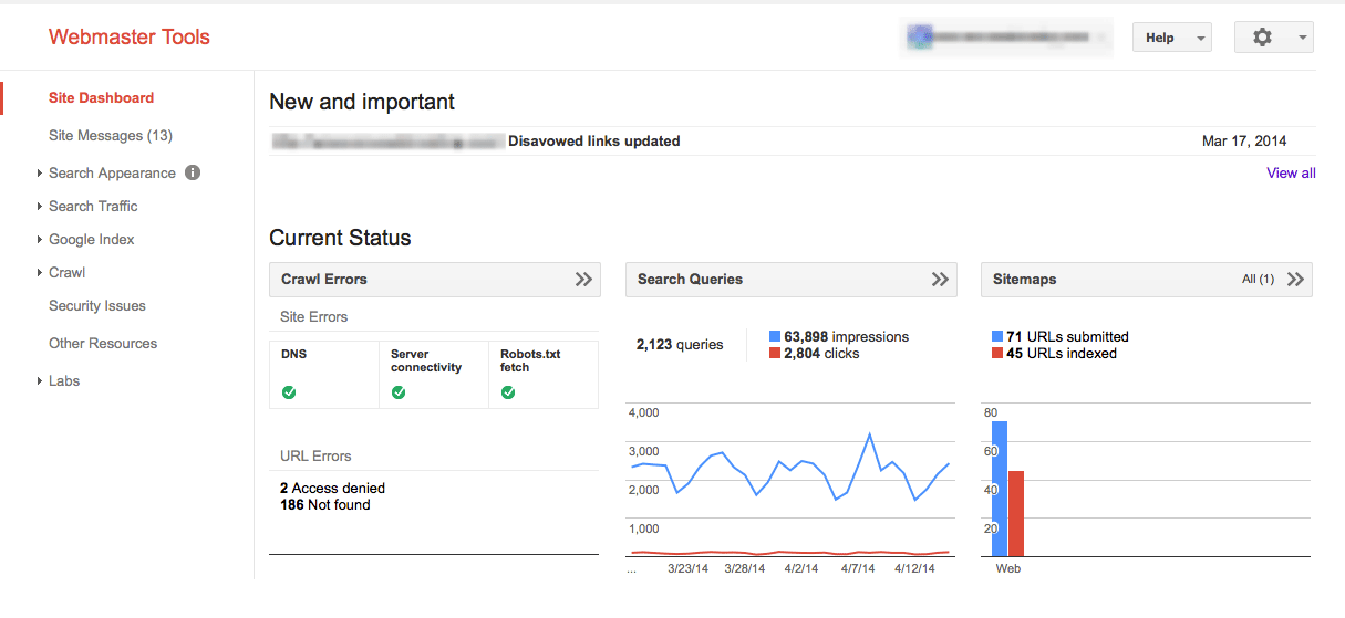 consola de búsqueda de google herramientas seo gratuitas