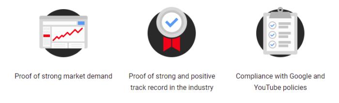 Certificaciones del Programa de medición de YouTube (YTMP)