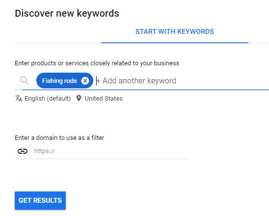 """ejemplo de herramienta de planificación de palabras clave de Google para anuncios de búsqueda de Google """"class ="""" wp-image-106546 """"srcset ="""" https://neilpatel.com/wp-content/uploads/2021/03/google -keyword-planner-tool-fishing- rods-examle.png 548w, https://neilpatel.com/wp-content/uploads/2021/03/google-keyword-planner-tool-fishing-rods-examle-350x281. png 350w """"tamaños ="""" (máx. ancho: 548px) 100vw, 548px"""