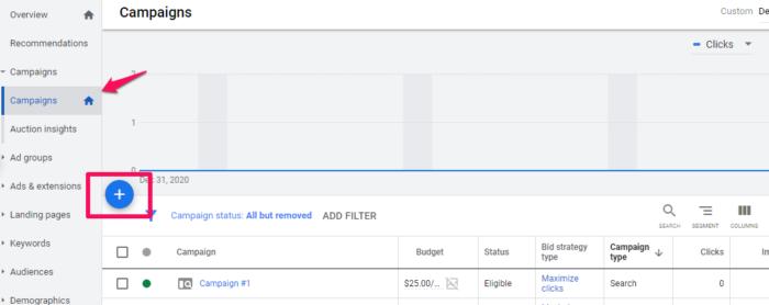 "Nueva campaña de Google Search Ads ""class ="" wp-image-106555 ""srcset ="" https://neilpatel.com/wp-content/uploads/2021/03/google-ads-create-a-new-campaign-700x278. png 700w, https://neilpatel.com/wp-content/uploads/2021/03/google-ads-create-a-new-campaign-350x139.png 350w, https://neilpatel.com/wp-content/ uploads / 2021/03 / google-ads-create-a-new-campaign-768x305.png 768w, https://neilpatel.com/wp-content/uploads/2021/03/google-ads-create-a-new -campaign.png 1075w ""tamaños ="" (ancho máximo: 700px) 100vw, 700px"