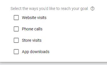 "anuncios de la red de búsqueda de Google elija la acción ""class ="" wp-image-106558 ""srcset ="" https://neilpatel.com/wp-content/uploads/2021/03/google-search-ads- website-visits.png 376w , https://neilpatel.com/wp-content/uploads/2021/03/google-search-ads-website-visits-350x213.png 350w ""tamaños ="" (ancho máximo: 376px) 100vw, 376px"