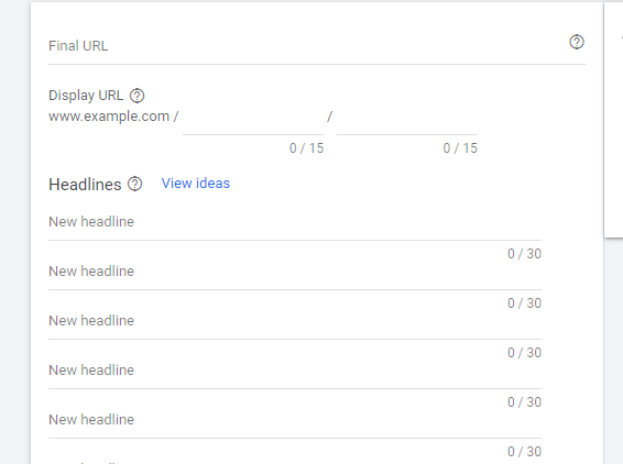 """créer une annonce de recherche Google """"class ="""" wp-image-106564 """"srcset ="""" https://improvvisa.es/wp-content/uploads/2021/03/1616515338_861_Como-configurar-una-campana-en-la-red-de-busqueda-de.png 566w , https://neilpatel.com/wp-content/uploads/2021/03/create-your-ad-in-google-ads-350x261.png 350w """"tailles ="""" (largeur maximale: 566px) 100vw, 566px"""