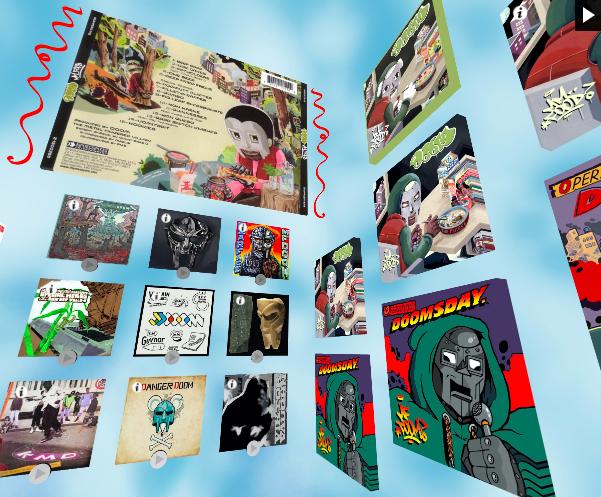 marketing musical - contenido interactivo mf doom