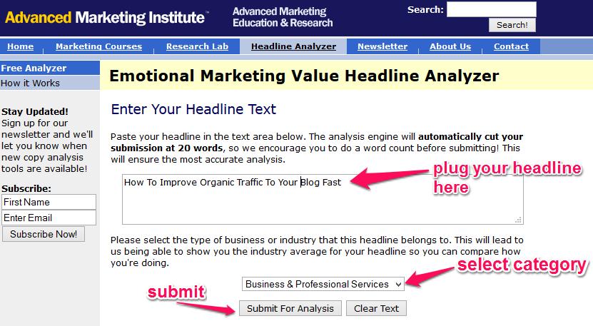 herramienta de marketing emocional - redacción SEO