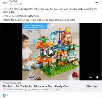cómo dirigirse a los padres a través de anuncios pagados con reseñas