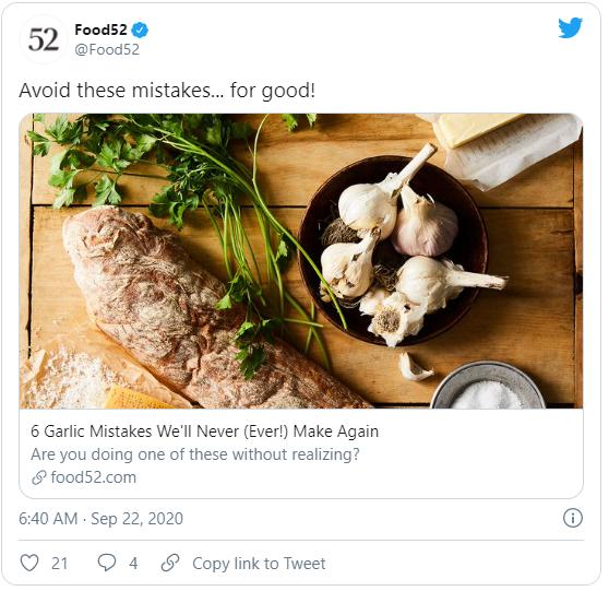 cta negativo para la estrategia avanzada de Twitter