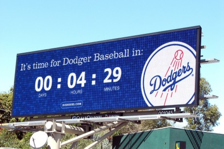 Consejos para una exitosa campaña publicitaria fuera de casa - Dodgers Billboard