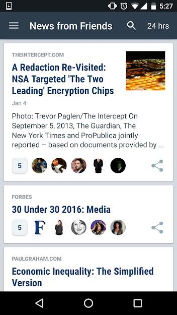 Nuzzel es una herramienta de redes sociales que gestiona un suministro de noticias desde plataformas sociales.