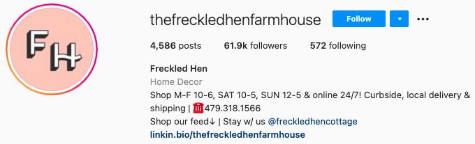 mejores biografías de instagram: la granja de gallinas pecosas