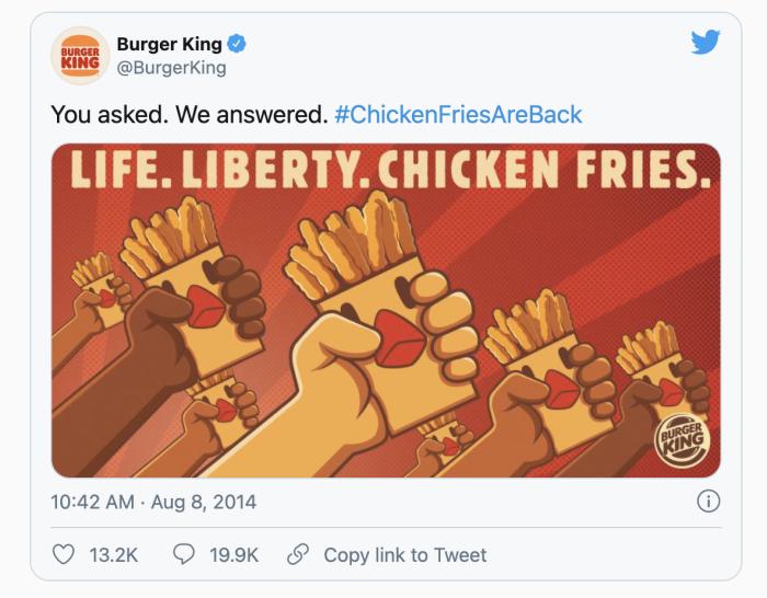 Ejemplos de buenos anuncios de comida - Burger King