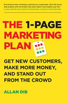 los mejores libros de marketing: el plan de marketing de una página