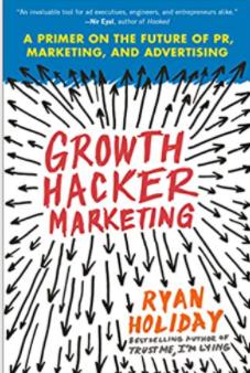 Mejores libros de marketing: Growth Hacker Marketing