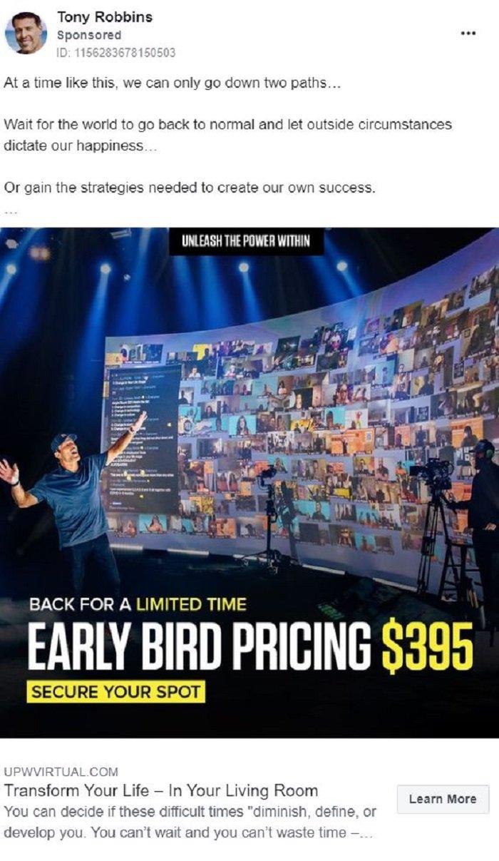Marketing de liderazgo intelectual - Tony Robbins