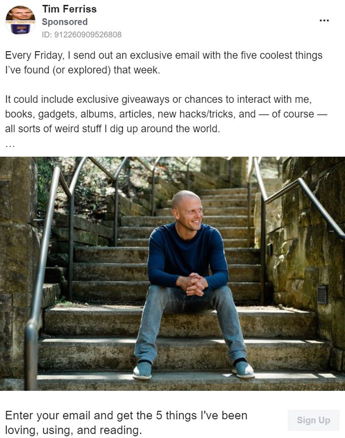 Marketing de liderazgo intelectual - Tim Ferriss