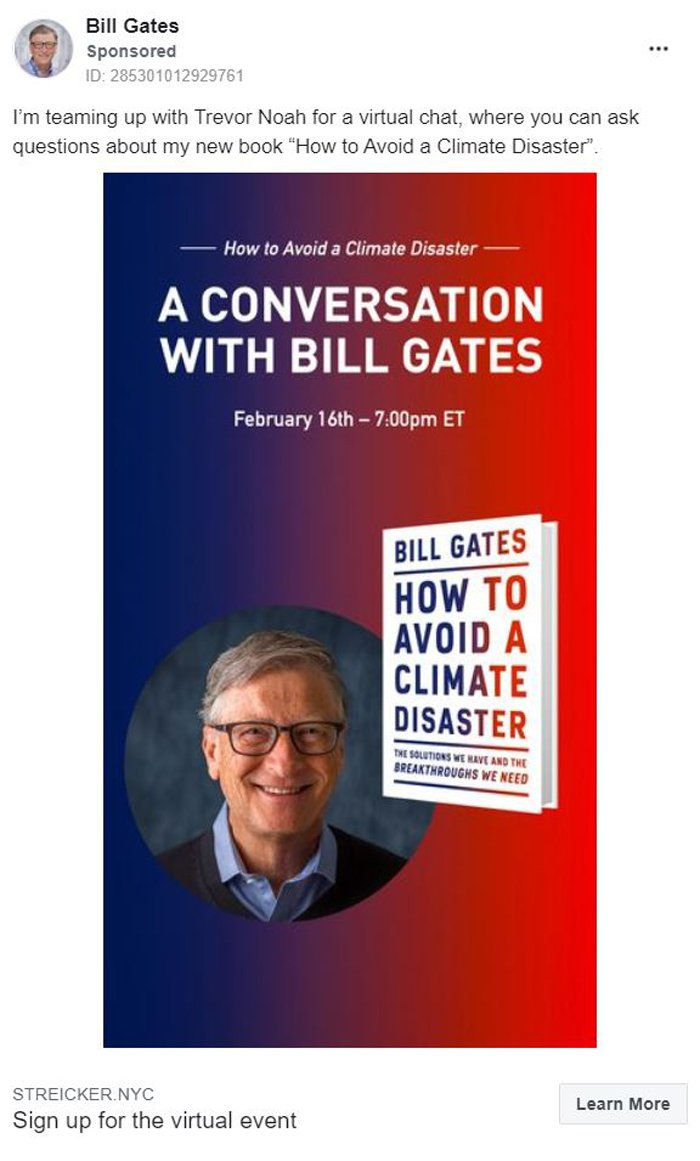 Marketing de liderazgo intelectual - Bill Gates