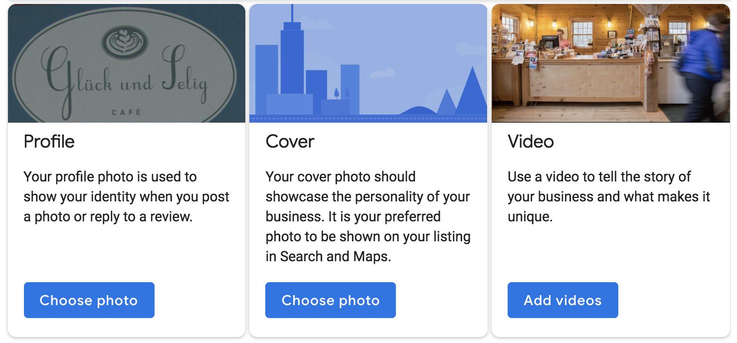 """Ejemplos de imágenes de perfil para su cuenta de Google My Business """"class ="""" wp-image-58758 """"width ="""" 700 """"height ="""" 344"""