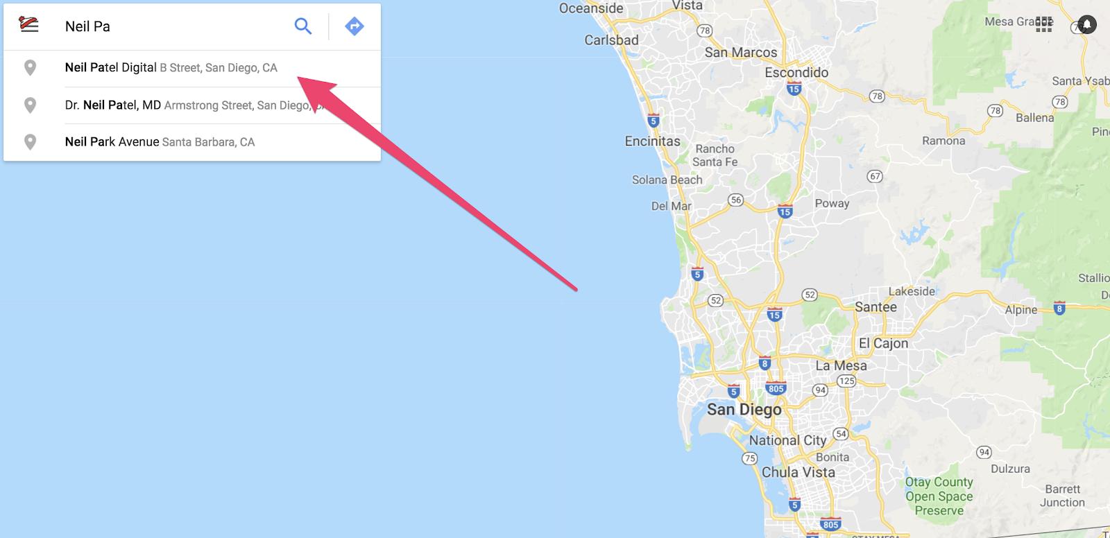 """Cómo reclamar una empresa en Google usando Google Maps (paso 2) """"class ="""" wp-image-58761 """"width ="""" 700 """"height ="""" 388"""