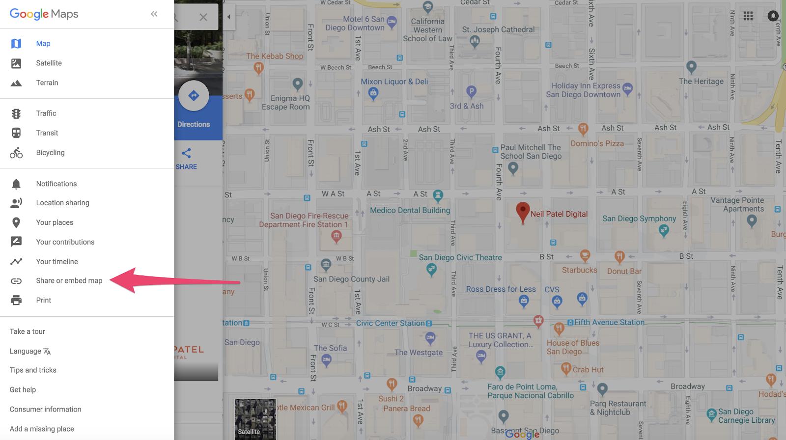 """Paso de integración / uso compartido de mapas para reclamar una empresa en Google """"class ="""" wp-image-58742 """"width ="""" 700 """"height ="""" 448"""
