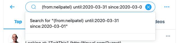 Cómo encontrar tweets antiguos: cambiar la configuración de búsqueda en la búsqueda avanzada de Twitter