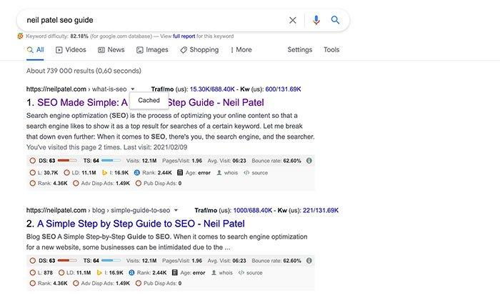 Herramientas del visor de caché web: utilice la búsqueda de Google para encontrar páginas almacenadas en caché
