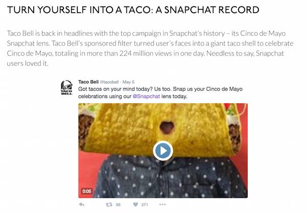primer ppc móvil - Taco Bell