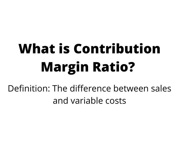 ¿Qué es el índice de margen de contribución?