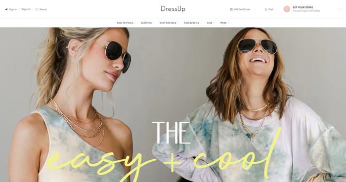 """Compre en línea, recójalo en la tienda - DressUp """"class ="""" wp-image-109782"""