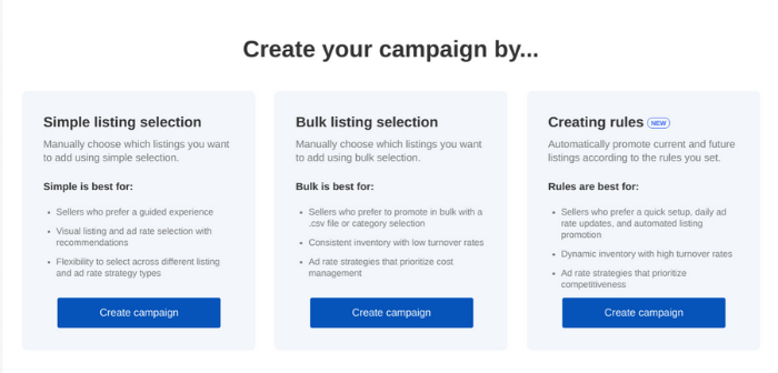 Anuncios de eBay: creación de anuncios patrocinados