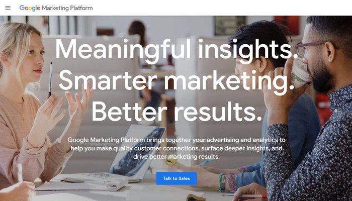 compra programática plataforma de marketing de google